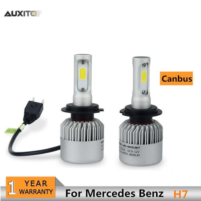 2x h7 canbus de voiture led phares ampoule haut bas. Black Bedroom Furniture Sets. Home Design Ideas