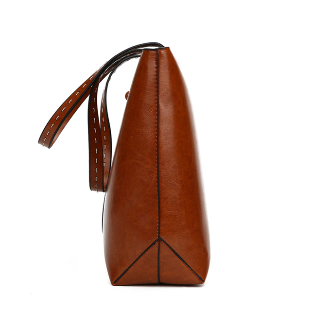Autumn New PU Leather Women Bag New Vintage Designer Handbags