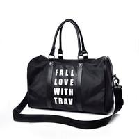 Outdoor Women Big Capacity Travelling Bags Fitness Bags Woman Sport Bag Travel Shoulder Bag Ladies Large Nylon Handbag