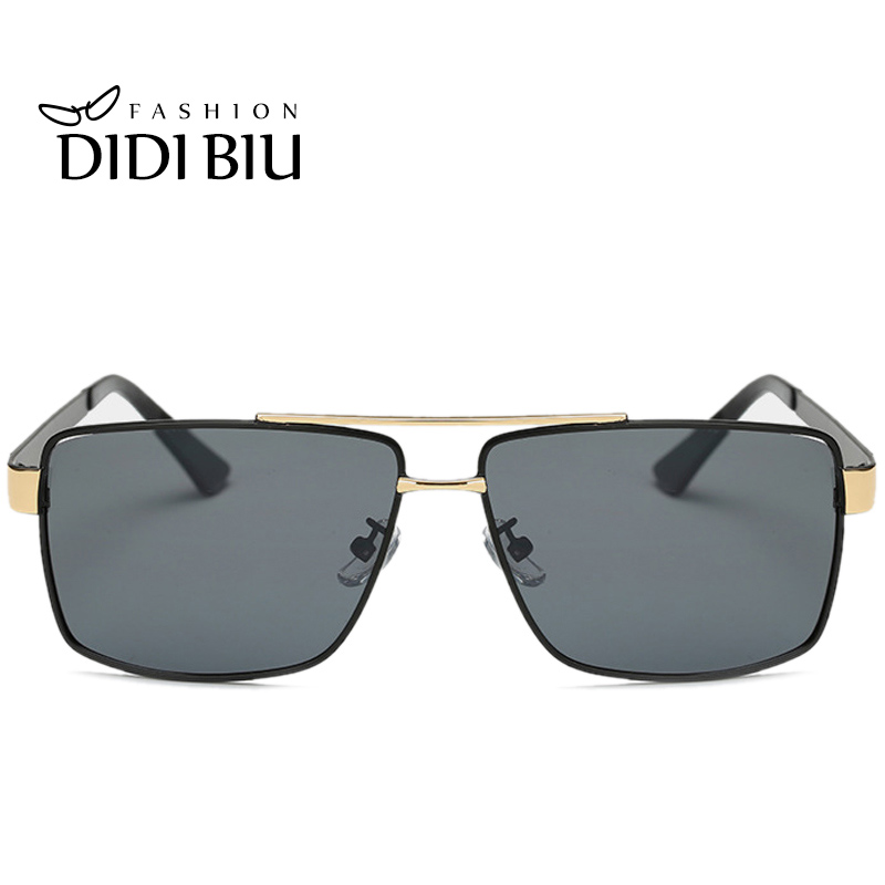 7c1c22d1c70 DIDI Square Polarized Sunglasses Men Uv400 Driving Sun Glasses Flat Top  Wide Glasses Women Prescription Eyewear Frames U627-in Sunglasses from  Apparel ...
