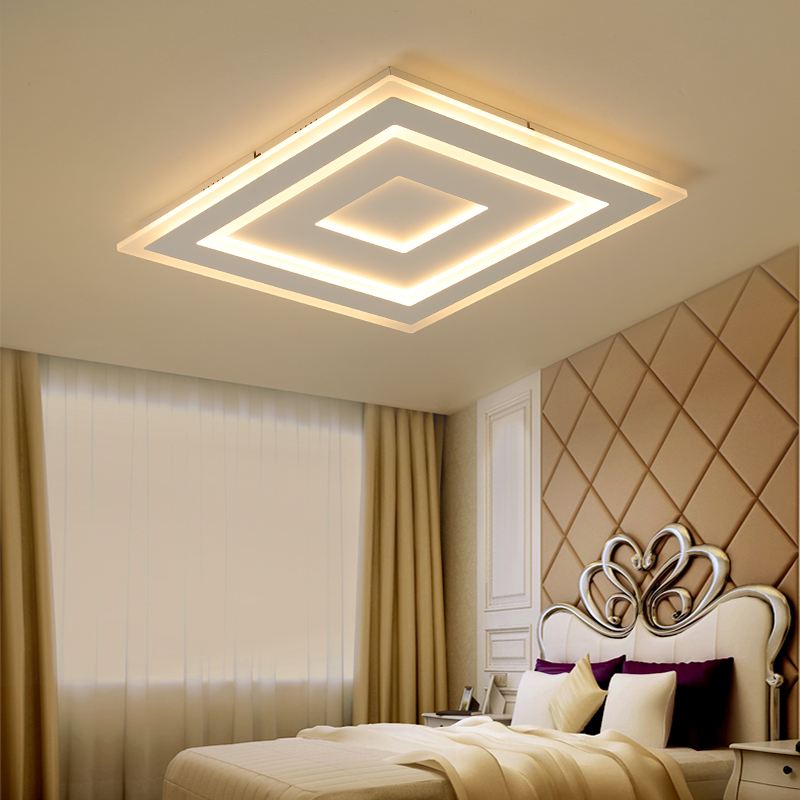 Modern LED Ceiling lights Acrylic Kitchen Indoor Lighting Ceiling lamp For Dining Room Living Room Lamp De Techo Luminaire in Ceiling Lights from Lights Lighting