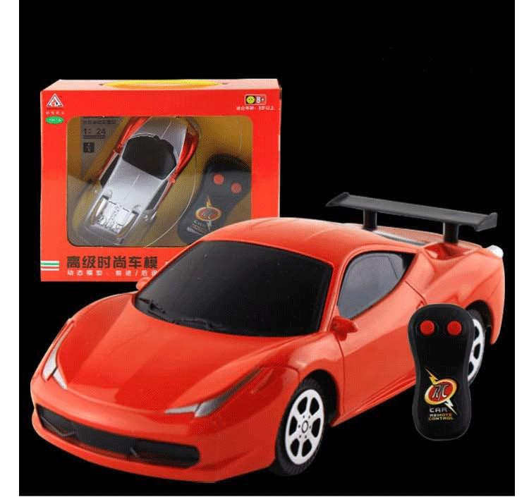 rc car 1 10 remote control gasoline car mini battery. Black Bedroom Furniture Sets. Home Design Ideas