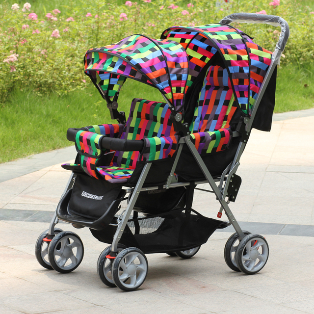 Double Baby Carriage,Two-point Safety Belt,Twin Pushchair,Installation Simple and Convenient,Easy to Install,Excellent Quality