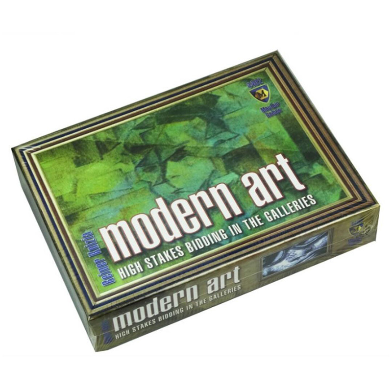 Modern Art Board Game 3 5 Players Family/Party Best Gift for Children Funny Auction GameBoard Games   -