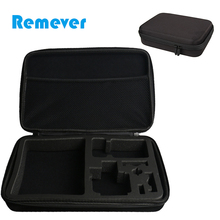 Portable Waterproof Carrying and Travel Case for Gopro Hero 5 6 Hard Bag for Sjcam Storage bag for Action Camera Accessories anjirui waterproof storage carrying bag travel case for gopro hero sessions 4 4 3 3 2 1 xiaomiyi action camera case accessories