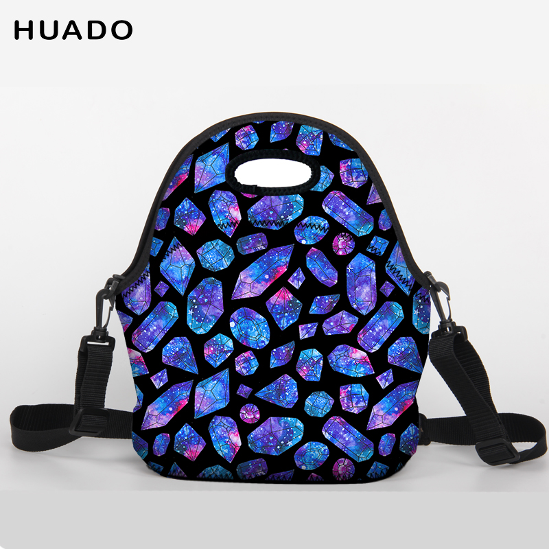 2018 New Portable Thermal Lunch Bags for Women Men Multifunction Large Capacity Storage Tote Bags ...