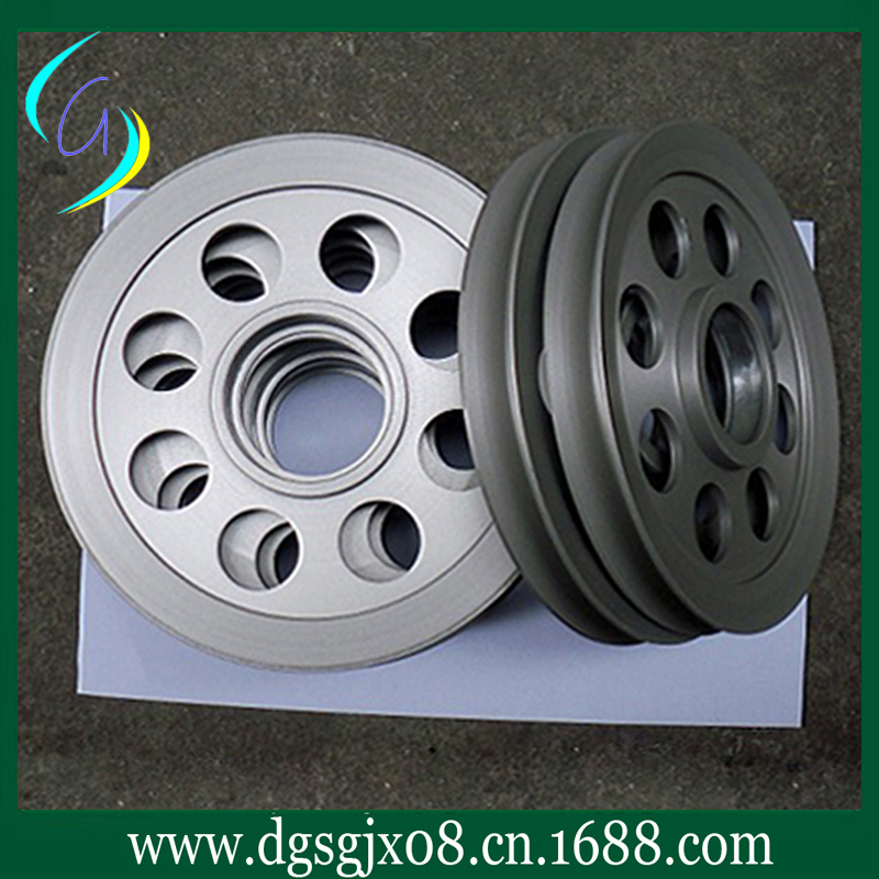 anodization Aluminum guide pulley      hard oxygen finish store line idler pulley for stranding wire and EXtruding machine chrome oxide plated steel wire guide pulley for wire industry