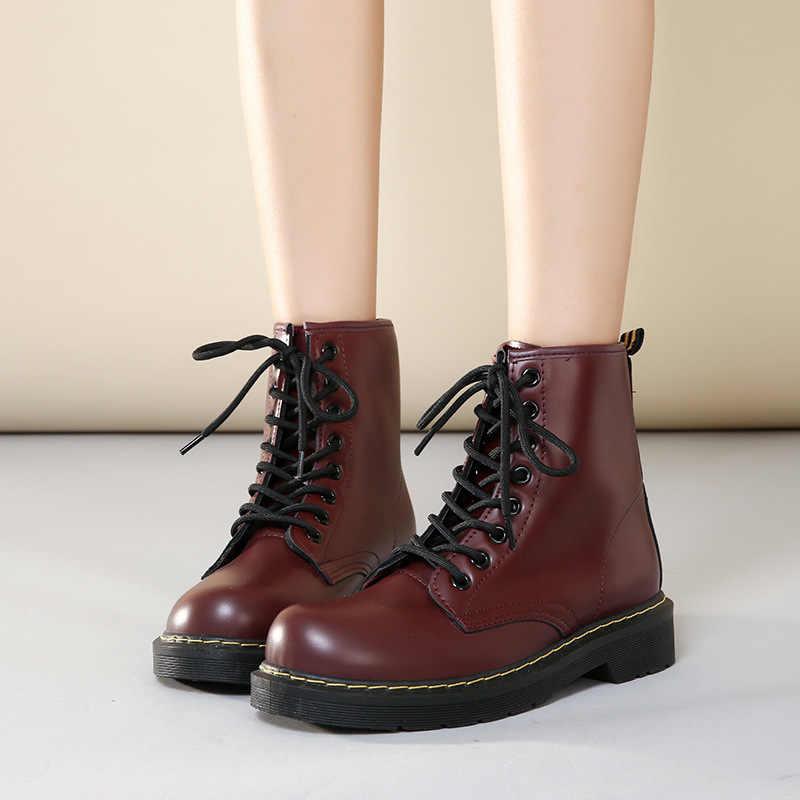 2019 Kadın Botları ayak bileği bağcığı botları Çizmeler Kadın Ayak Bileği Kürk Çizmeler Marka Kış Kadın Ayakkabı Boyutu 42