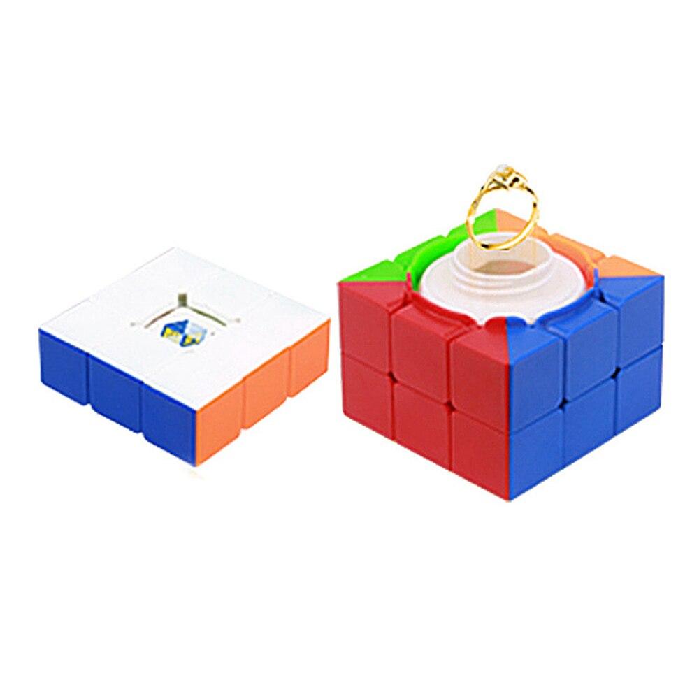 Yuxin Zhisheng 3x3x3 Trésor Boîte Magique Cube Vitesse Jeu de Puzzle Cubes Jouets Éducatifs pour Enfants Enfants cadeau de noël