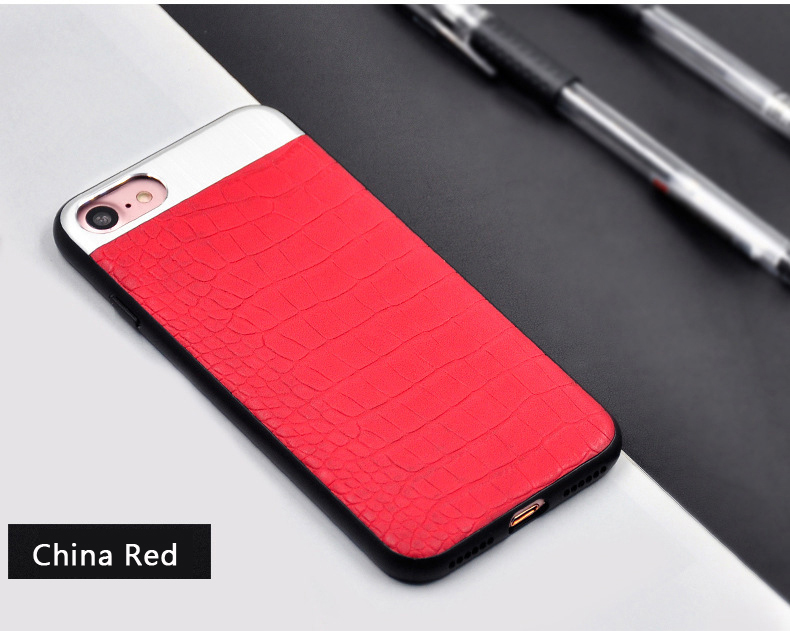 Kasatin Corrodie Pattern Leather Back Cover for iPhone 6 (11)