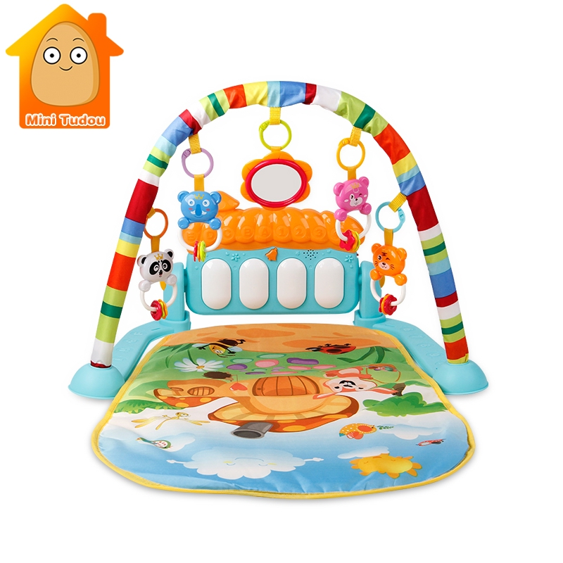 Multifunction 0-12 Months Baby Play Mats 3 In 1 Cartoon Baby Kids Rug Floor Mat Game Play Comfortable Lovely Boy Girl Carpet Consumers First Baby Gyms & Playmats