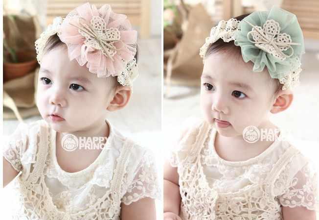 2018 الكورية طفل الفتيات عقال الوليد ورد من الأقمشة ل رباطات DIY مجوهرات تصويرها الصور الأطفال إكسسوارات الشعر