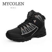 MYCOLEN 2019 мужская повседневная обувь роскошные дизайнерские зимние удобные высокое качество для мужчин спортивная Erkek Ayakkabi