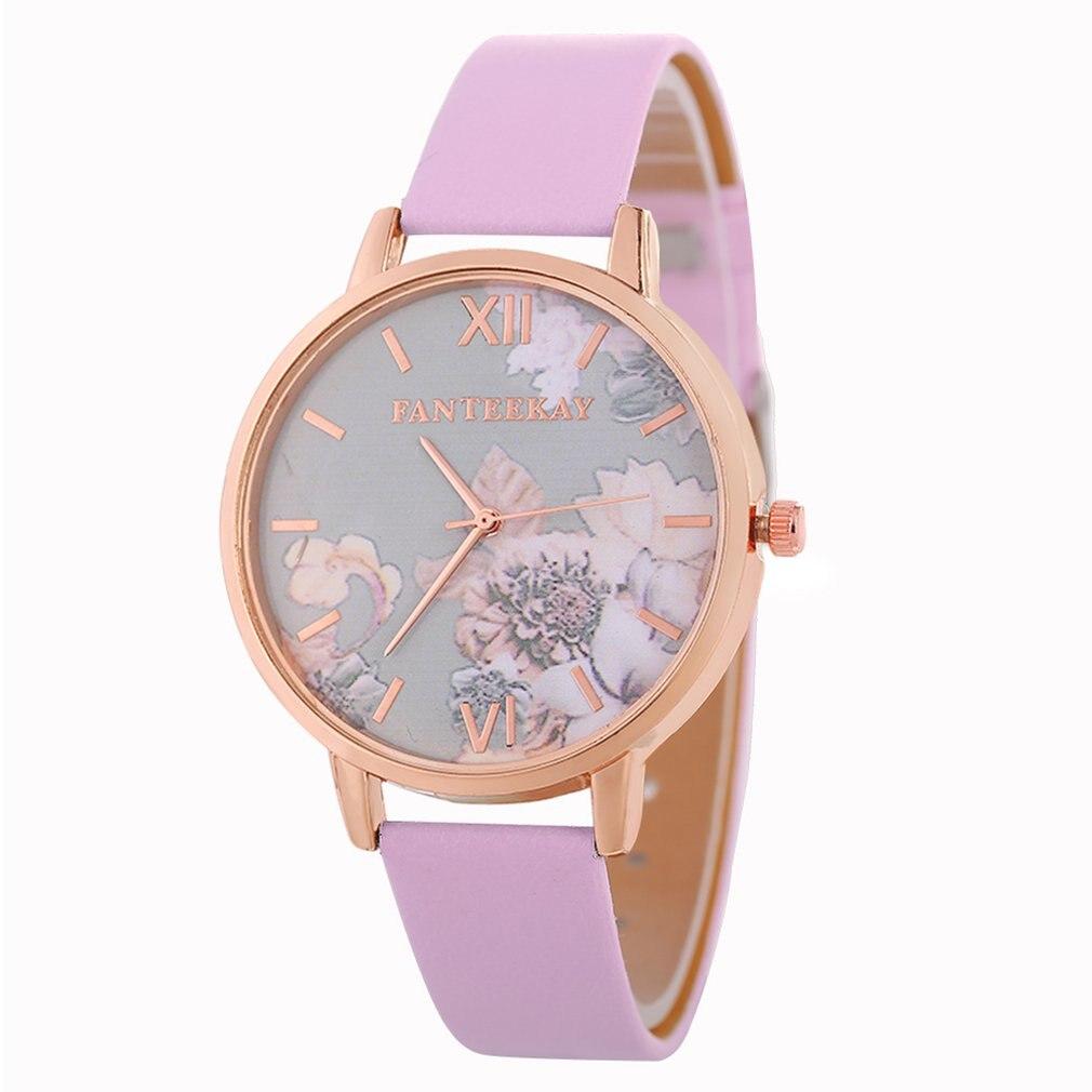 2018 Top Brand LuxuryLeather Strap Quartz Fashion Watch Women's Watches Ladies Wristwatch  Girl Quartzwatch Watch Waresale