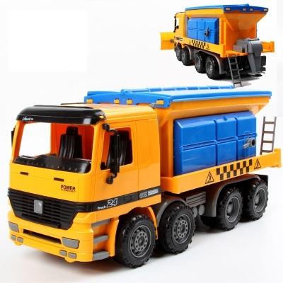 1:22 gran simulación nieve vehículo de rescate inercial camión de juguete coche de juguete de plástico de ingeniería modelo de coche diecast juguetes para niños