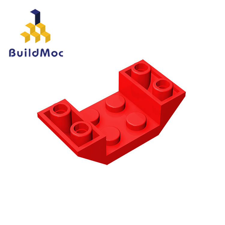BuildMOC Compatible With Assembles Particles 4871 4x2 For Building Blocks Parts DIY LOGO Educational Creative Gift Toys