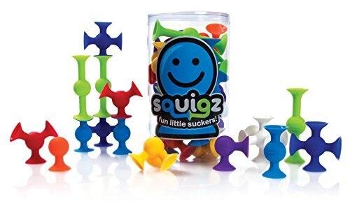 36 шт./компл. DIY образования игрушки присоски Squigz трубогибы игрушка творческий сборка гайка игрушки кремния любит Squigz стартер дети подарок