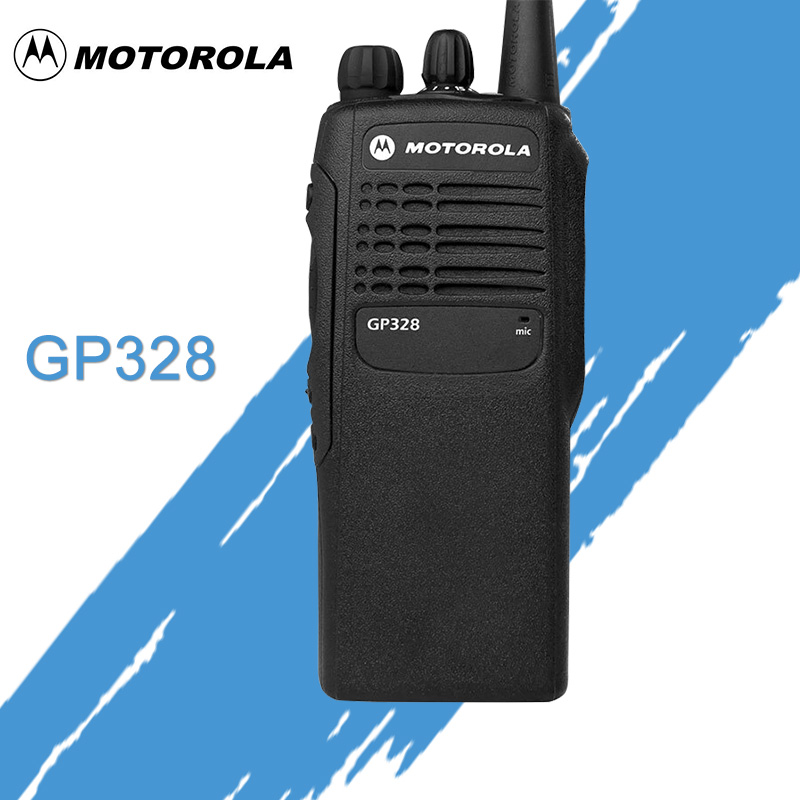 Motorola GP328 Explosion-Proof Walkie Talkie Outdoor Handheld High Power Dual Band 10 Km Portable Transceiver Two Way Radio