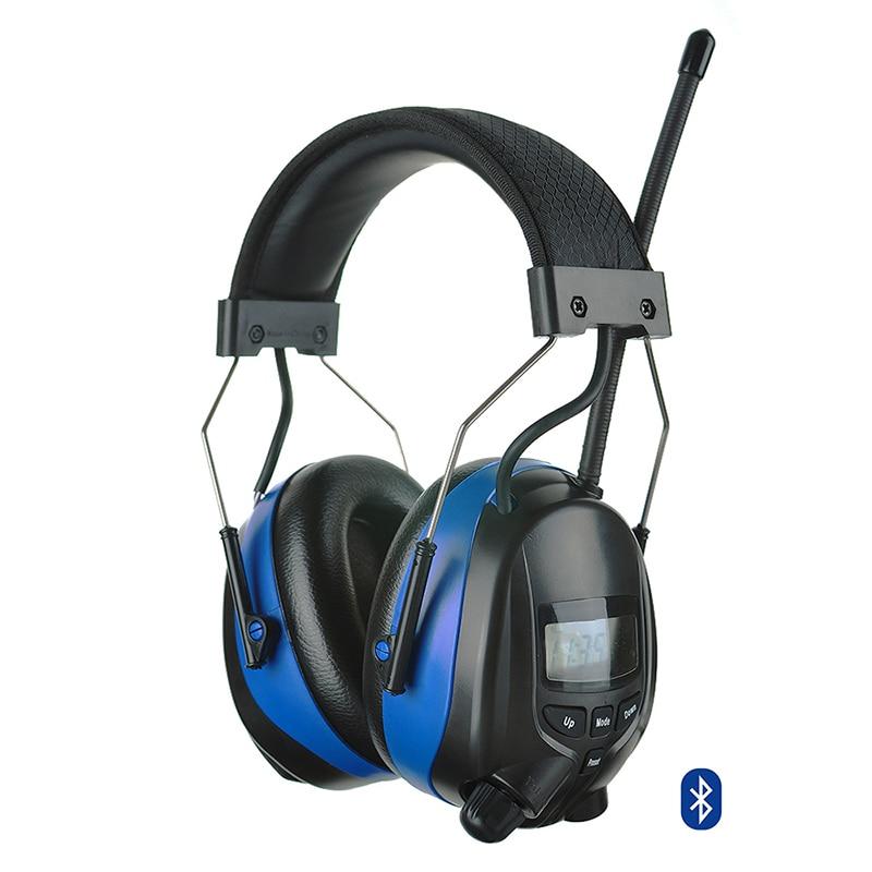 imágenes para Electrónica Bluetooth FM AM Radio Orejera Orejeras Protector Auditivo de Tiro de Caza de Protección para los Oídos de Reducción de Ruido Auriculares