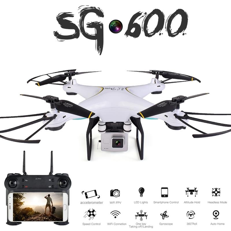 SG600 RC Drone con 0.3mp o 2mp HD della Macchina Fotografica WIFI FPV Quadcopter Ritorno Automatico il Mantenimento di Quota Senza Testa Modalità RC Elicottero VS Syma x5c