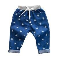 2016 Spring And Autumn Fashion Korean Boys Girls Jeans Fan Children S Joker Trousers Of Stars