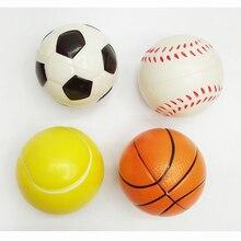 12 pcs bolas de futebol basquetebol ténis de beisebol moderno bola de stress relax emocional mão wrist exercício stress toys para crianças