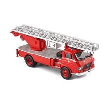 цена на Scale Diecast Car Pompiers Vehicles Ladder Fire Truck Model Car Model Kids Toy