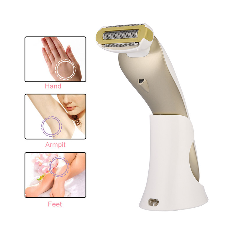 100-220V Electric Epilator Women Shaver Depilador For Body Arm Leg Underarm Hair Trimmer Bikini Female Hair Remover Removal _PJ fry s store body hair removal epilator electric shaver depilador sensitive precision beauty styler bikini trimmer for lady