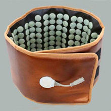 9eba7b82b Natural Jade Stone Waist Pain Relief Waist Belt with Heat For Sale(China)