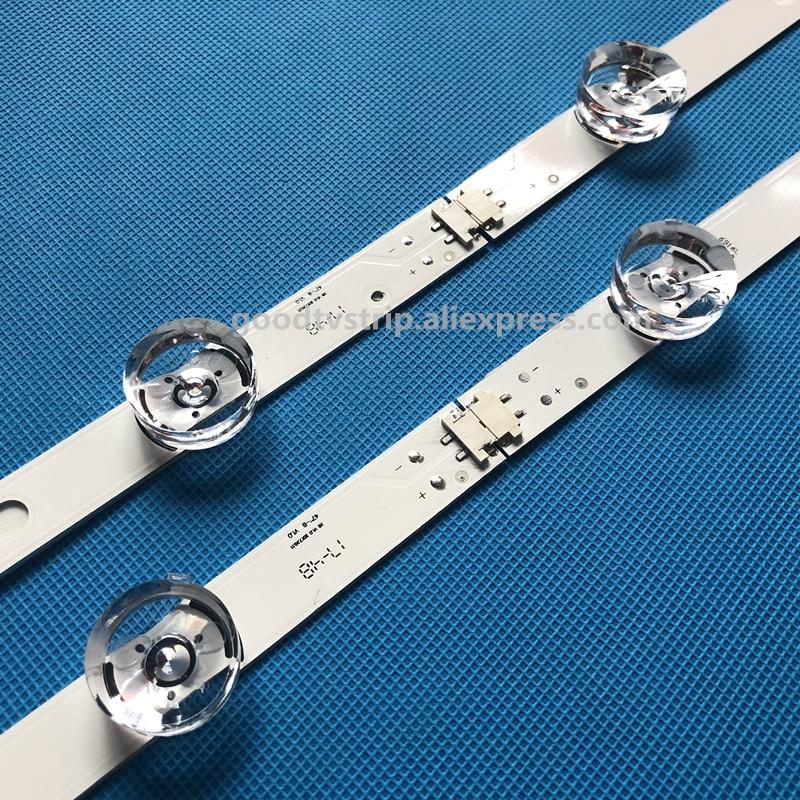 New LED Backlight Lamp strip 8 leds For LG 42LY320C LC420DUE INNOTEK DRT 3.0 42 inch TV 42LB5610 42GB6310 6916L-1709