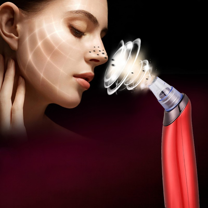 3 Colors Available Electric Acne Remover Blackhead Vacuum Extractor Tool Black Point Noir Cleaning Skin Care Tools Lift Blemish