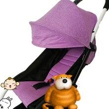 yoya Stroller Accessories for Baby stroller Seat + Sun Shade Cover Pram Buggy OXFORD yoya Organizer Cushion Pad Sunshade Canopy