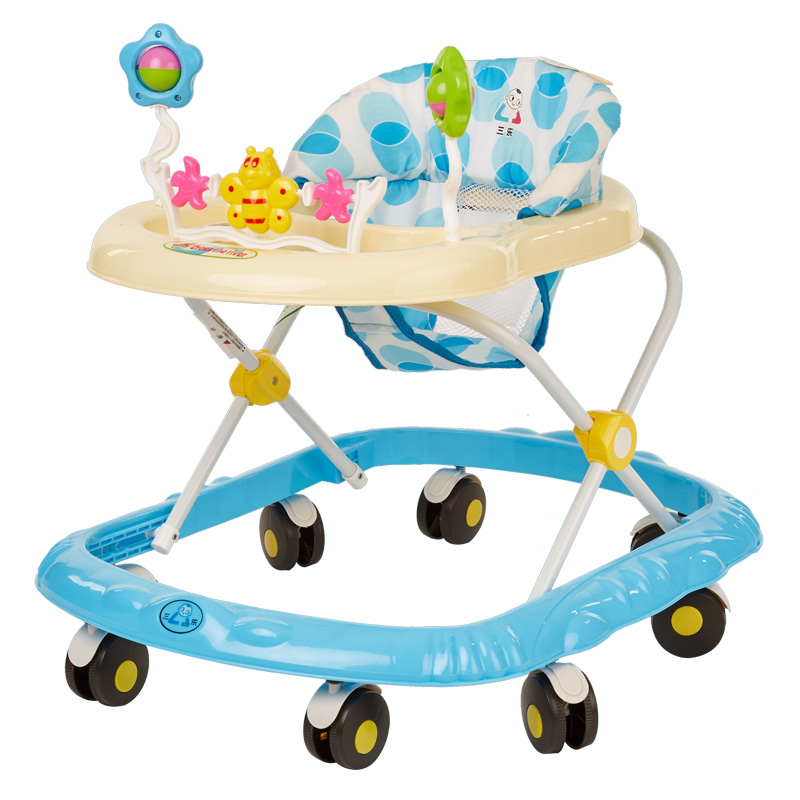 Portable Baby Walker Portable Baby Toddler Walk Stroller Music Toys