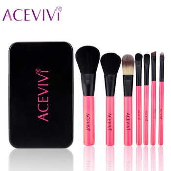 Acevivi brand 7pcs professional makeup brush set cosmetics kit powder eyeshadow contour concealer make up brushes.jpg 350x350