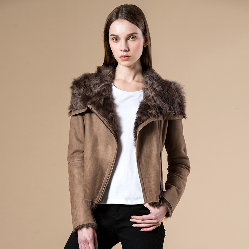Compare Prices on Brown Shearling Coat- Online Shopping/Buy Low ...