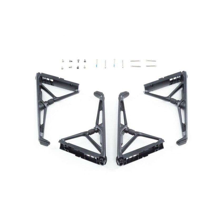 4 pcsset Original DJI Inspire 2 Tripod assembly Repairing Part For DJI Inspire 2 Drone Accessories