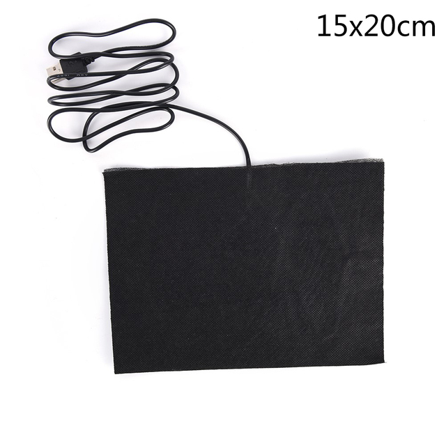Hot Sale Back Neck Fast-Heating Carbon Fiber Heating Pad Hand Warmer USB Heating Film Electric Winter Infrared Fever Heat Mat