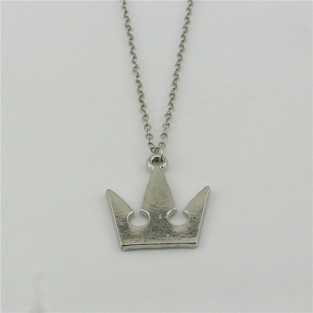Online shop kingdom hearts necklace crown sora riku kair roxas kingdom hearts necklace crown sora riku kair roxas amulet symbol logo silver color pendant fashion hot jewelry jewelry aloadofball Gallery
