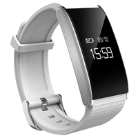 A58 Heart Rate OLED Smart Watch BT4.0 Blood Pressure Monitor For Iphone Samsung