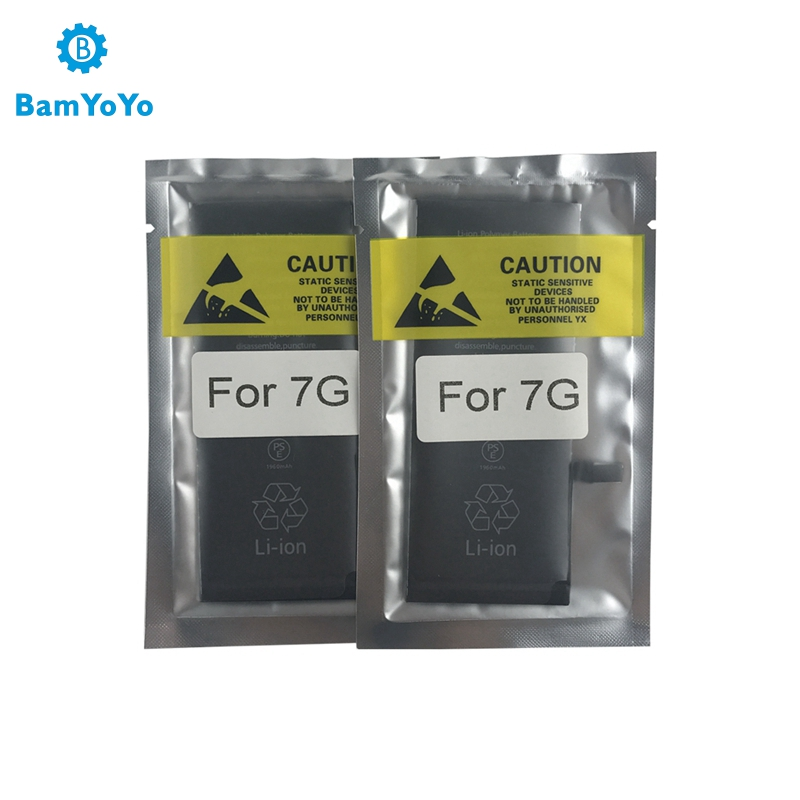 BMT Original 5pcs Superior Quality Battery for iPhone 7 7G 1960mAh iOS 13 replacement 100% Cobalt Cell + ILC Technology 2019