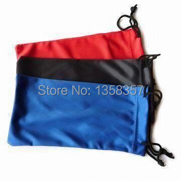 Workmanship 100pcs/lot Cbrl 9*17cm Glasses Drawstring Bags For Gift/sunglasses/ipad Mini,various Colors,size Can Be Customized,wholesale Exquisite In
