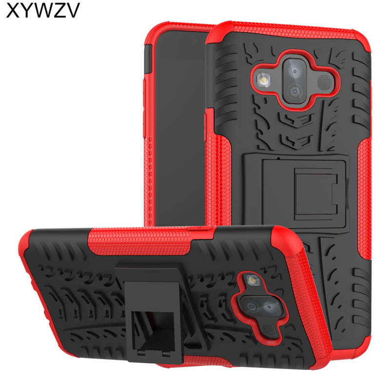 sFor Coque Samsung Galaxy J7 Duo Case Armor Rubber PC Hard Back Case For Samsung Galaxy J7 Duo Cover For Samsung J7 2018 J720 in Fitted Cases from Cellphones Telecommunications