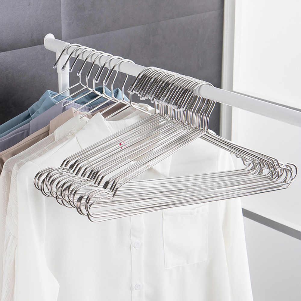 1 piezas/42/35 cm ropa de ropa percha de secado estante antideslizante gancho de abrigo de los niños adultos estante de accesorios de almacenamiento de ropa
