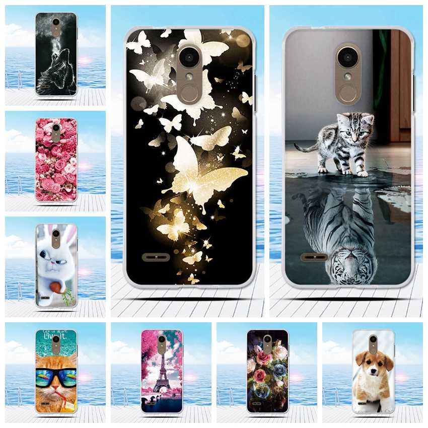 for LG K8 2018 TPU Fitted Case 5.0 inch Soft TPU Ultra Thin Silicone for LG K9 Case k8 2018 Cell Phone Cover Cartoon Printing