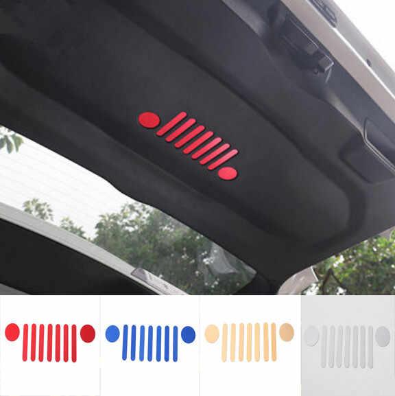 Terbaru Mobil Belakang Batang Storage Pintu Sticker Emblem Badge Untuk Jeep Renegade Gratis Pengiriman