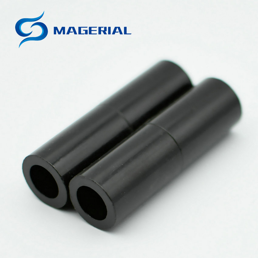 2-48pcs Bonded NdFeB BN8 Diametrically 8 Poles Magnet Ring OD 19x12x32 mm Neodymium Permanent Magnets Black Epoxy Coating Rotor 1 pack diametrically ndfeb magnet ring diameter 9 53x3 18x3 18 mm 3 8 1 8 1 8 tube magnetized neodymium permanent magnets