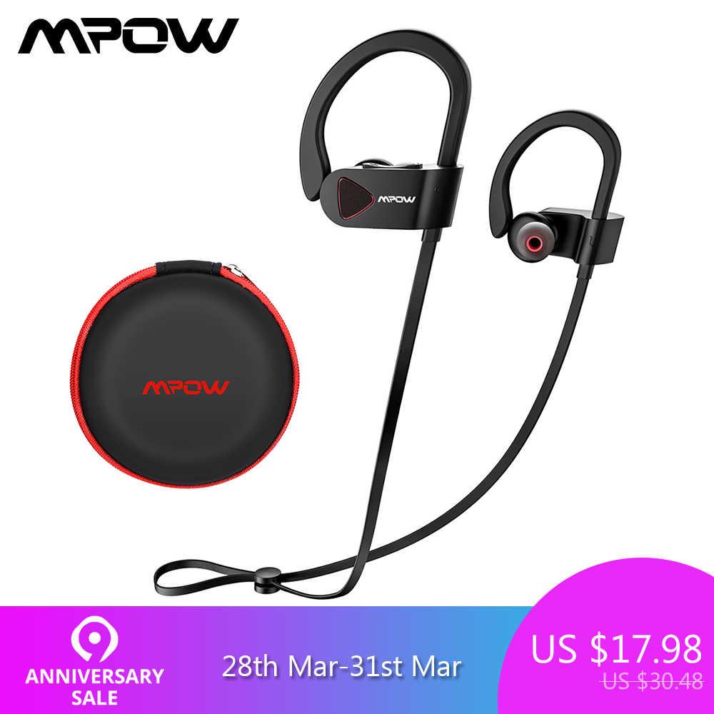 4b379c5e0c4 Mpow D8 Bluetooth Wireless Earphone IPX7 Structural Waterproof Sport  Headphones In-Ear Earbuds With Mic