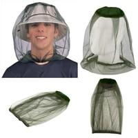 Novo boné de pesca ao ar livre midge mosquito inseto chapéu de pesca bug cabeça malha net rosto protetor viagem acampamento boné chapéus Bonés de pesca     -