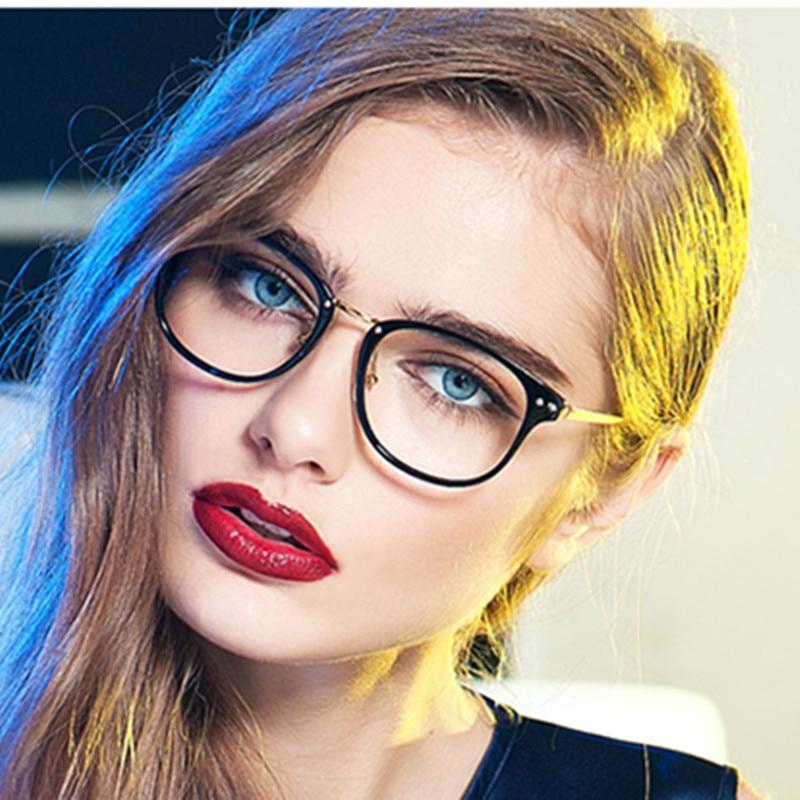 fashion glass frames obf4  2016 Top Quality New Eyeglasses Women Myopic Retro Eye Glass Frame For  Woman Female Lady Eyeglass
