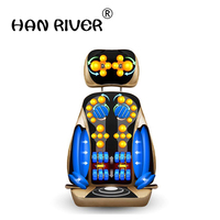 Airbag massage cushion neck massager neck shoulder waist systemic multi functional chair cushion cushion for leaning on J2208